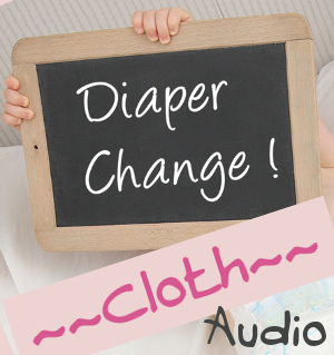 mommy changes baby diaper audio